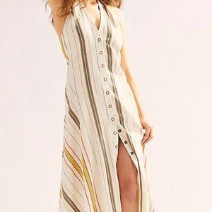 Free People Hannah Striped Dress